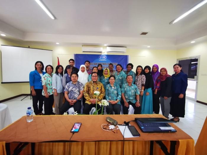 Meningkatkan kapasitas diri melalui kegiatan Validasi & Verifikasi BAN PAUD dan PNF Provinsi Papua Barat